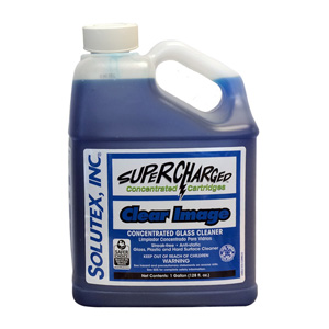 SUPERCHARGED SYSTEM CLEAR IMAGE GLASS CLEANER CLEANING