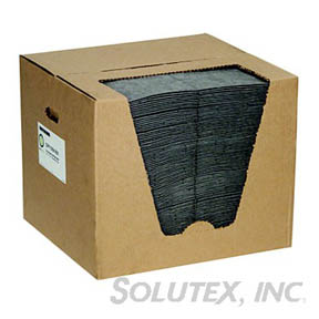 ABSORBENT PADS-GENERAL PURPOSE, HEAVYWEIGHT GRAY,