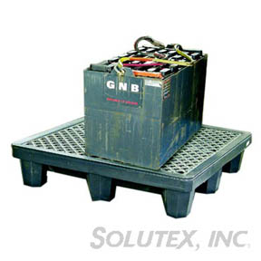SPILL CONTAINER W/DRAIN, 2 DRUM, ULT 2505