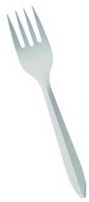 MEDIUM WEIGHT PLASTIC FORKS 1000/CS