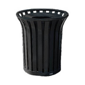 AMERICANA SERIES OUTDOOR TRASH CONTAINERS 36 GAL MT32