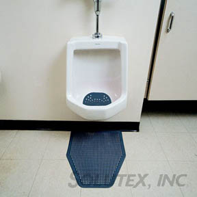 DISPOSABLE URINAL FLOOR MATS 6PER/CS